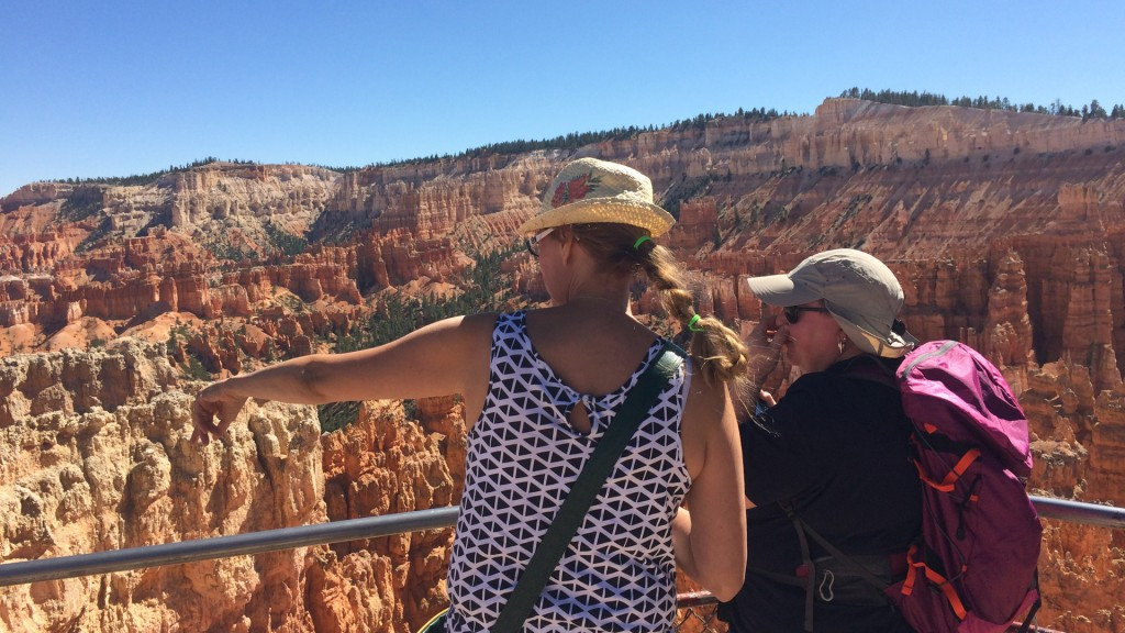 Andrea und Martina am Bryce Canyon (Foto: Oliver Hottong)