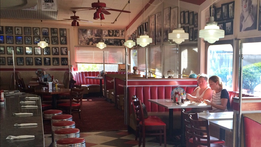 Im Diner an der Route 66 (Foto: Oliver Hottong)