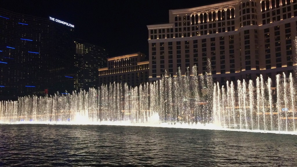 Die Bellagio Fountains (Foto: Oliver Hottong)