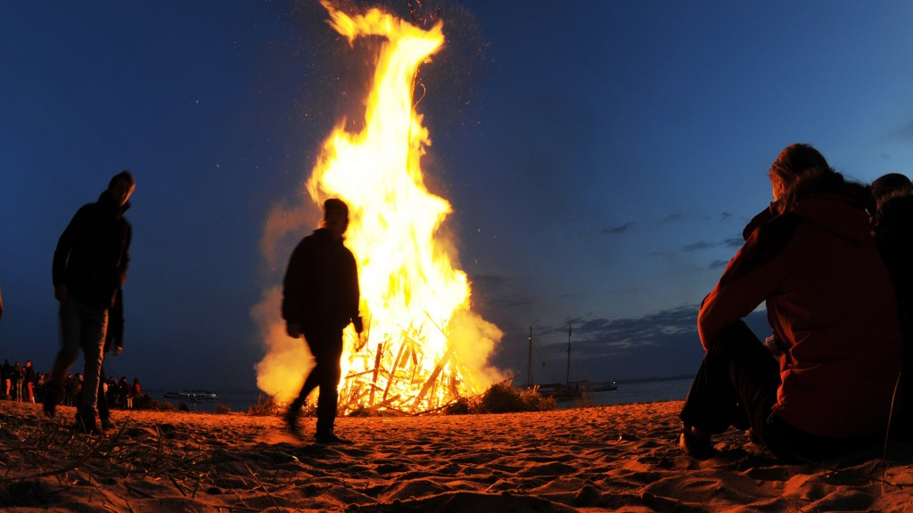 Foto: Osterfeuer