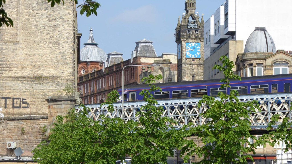 Foto: Glasgow in Schottland