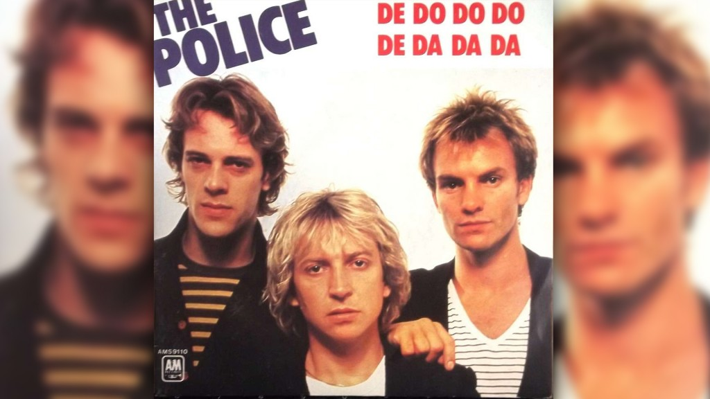Plattencover The Police 'De Do Do Do De Da Da Da' (Bild: A&M Records Inc.)