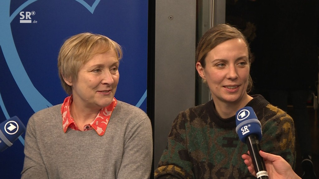 Bettina Vorndamme und Valesca Peters