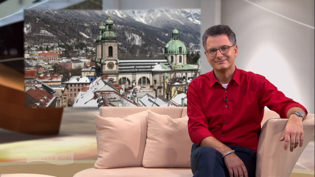 Foto: Michael Friemel im Studio