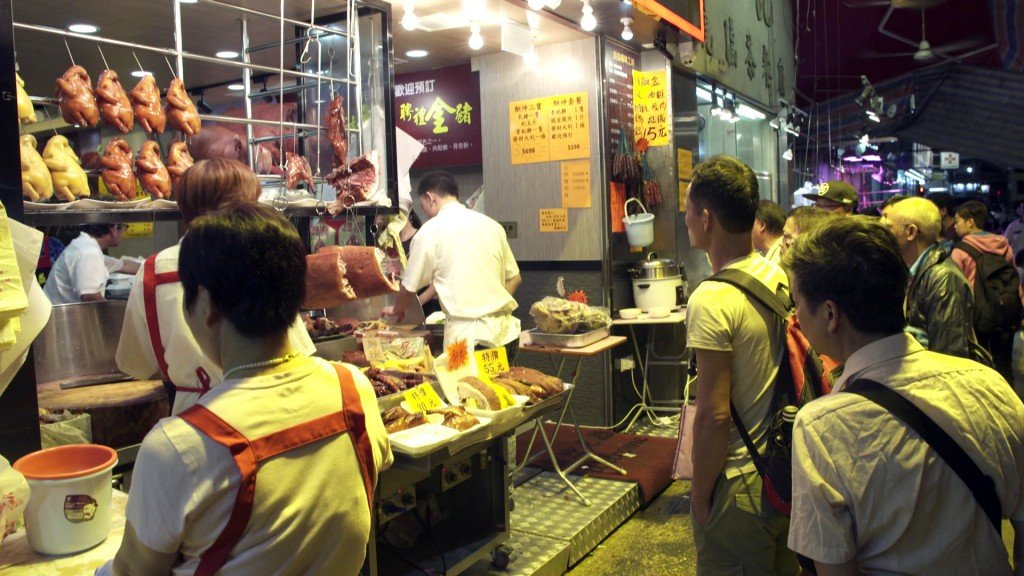 Foto: Streetfood in Hongkong