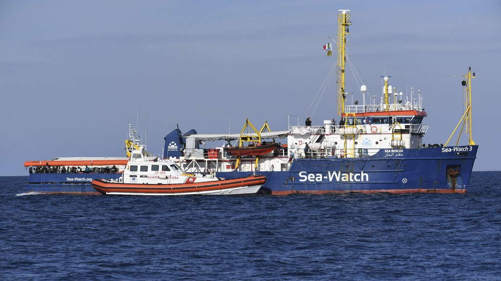 Die Sea-Watch 3 (Foto: dpa)