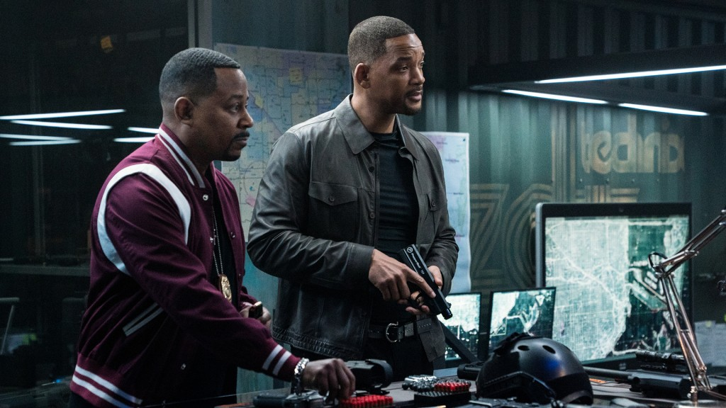 Marcus Burnett (MARTIN LAWRENCE, l.) und Mike Lowrey (WILL SMITH, r.) in