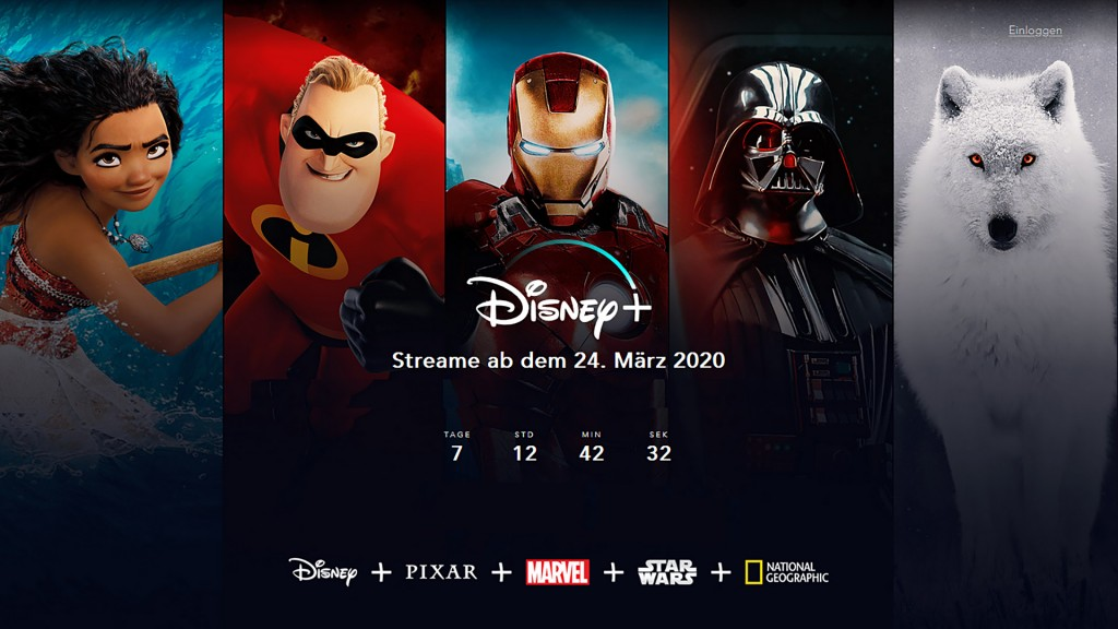 Screenshot Disney+