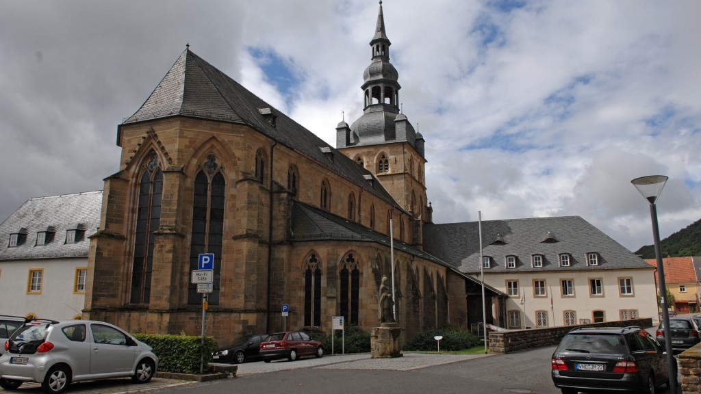 Die Abteikirche in Tholey. (Foto: Pasquale D'Angiolillo)